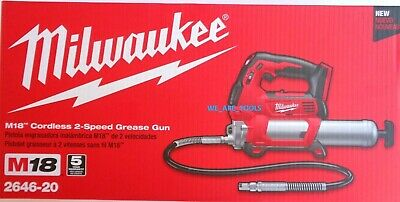 $294.97 • Buy NEW IN BOX Milwaukee 2646-20 Grease Gun M18 18 Volt Cordless Tool Only 18V