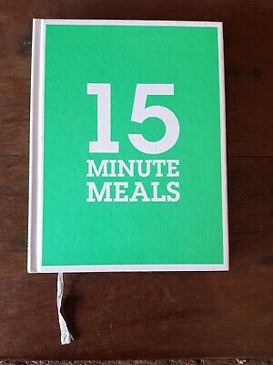 AU15 • Buy Jamie Oliver - 15 Minute Meals - 2012 - Hardcover - 288 Pages