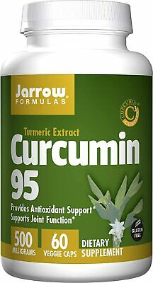 Jarrow Formulas Curcumin 95, Provides Antioxidant Support, 500 Mg, 60 Capsules • 13.59£