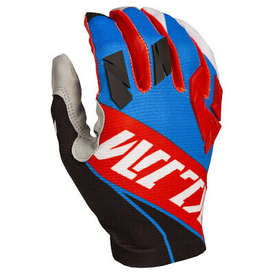 $ CDN31.32 • Buy Klim Xc Lite Off-road Gloves Blue/red Atv Mtb E-touch Riding Gloves All Sizes