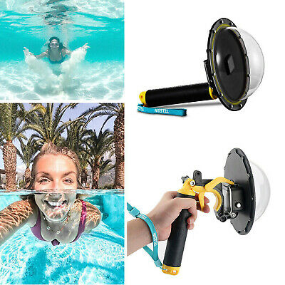 TELESIN Dome Port Underwater Diving Camera Lens Cover For GoPro Hero 8 AY • 50.39£