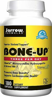 £18.68 • Buy Jarrow Formulas Bone-Up For Bone Density And Cardiovascular Health, 180 Capsules