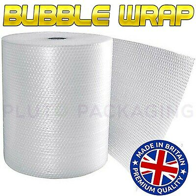 £9.25 • Buy BUBBLE WRAP ROLLS SMALL LARGE (300mm, 500mm, 750mm) - FREE UK NEXT DAY DELIVERY