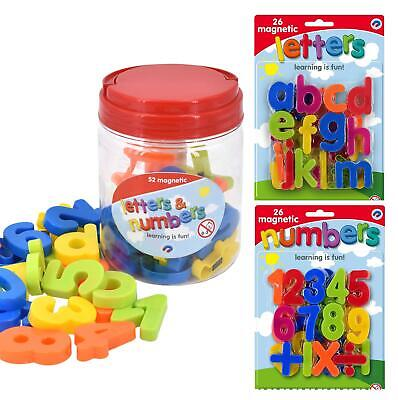 Magnetic Lowercase Letters And Numbers Fridge Magnet Kids Learning Toy • 5.79£