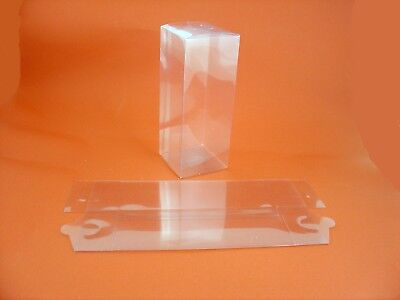 £5.20 • Buy 10 X Clear Acetate Boxes 17.8 Cms X 7 Cms X 7 Cms Ideal For Gift Packaging