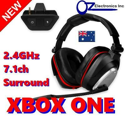 AU75 • Buy 2.4GHz True Wireless Gaming Headset For Xbox One 7.1 Virtual Surround NEW