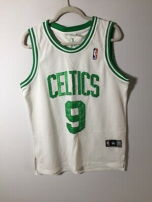AU24.99 • Buy NBA Authentics Boston Celtics Jersey Singlet Rondo Size L White And Green