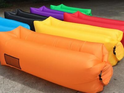 £11.75 • Buy Outdoor Lazy Inflatable Sofa Air Bed Lounger Sack Hangout Camping Beach Bag
