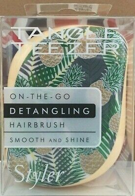 Tangle Teezer Compact Styler On The Go Detangling Hairbrush Pina Colada New  • 10.95£