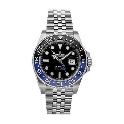 $ CDN20624.97 • Buy  Rolex GMT-Master II Batman Auto 40mm Steel Mens Bracelet Watch Date 126710BLNR
