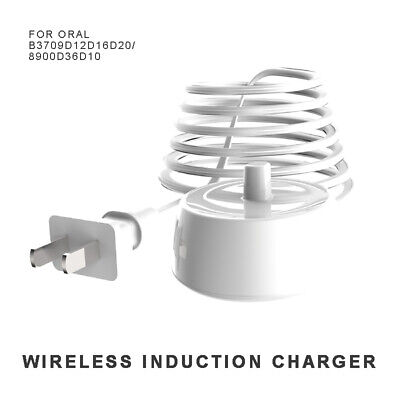 AU15.99 • Buy New Electric Toothbrush Replacement Charger Inductive Charging Base For Oral B