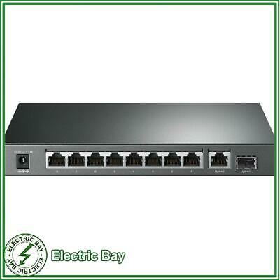 AU141 • Buy TP-Link TL-SG1210P 10 Port Gigabit Desktop Switch With 8-Port PoE+ SFP Slot