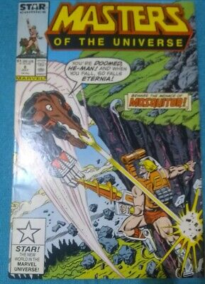 $9.98 • Buy Masters Of The Universe #8 1987 Mosquitor Cover & Appearance