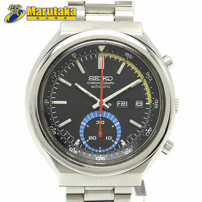 $ CDN916.68 • Buy Seiko Chronograph 6139-6002 Automatic SS 1976 Speed ​​Timer Single Vintage Watch