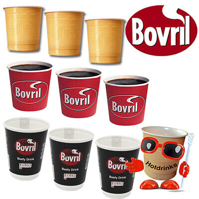 £4.95 • Buy Bovril 'Beef' Soup Flavour In Cup, Incup Drinks For Vending, Catering, Hot Water