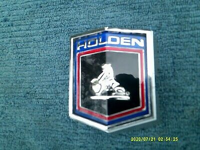 AU130 • Buy Hq Holden Kingswood Premier Grill Badge New Insert Good Condition