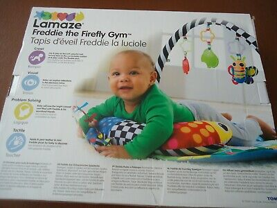 LAMAZE Baby Activity Mat Baby Gym Sit And Play FREDDIE THE FIREFLY 0+ • 24.95£