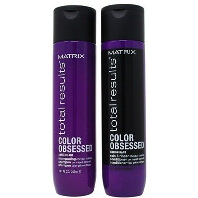 £13 • Buy Matrix Total Results Color Obsessed Shampoo & Conditioner 10.1 Oz Duo (scuffed)
