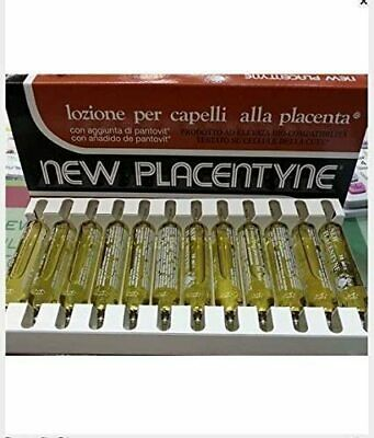 New Placentyne Placenta Hair Treatment Normal Brown 12 X 10ml Phials • 8.95£