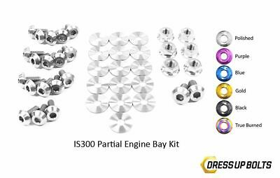 $ CDN263.63 • Buy Dress Up Bolts IS300 Altezza 98-05 2JZ-GE Titanium Partial Engine Bay Polished