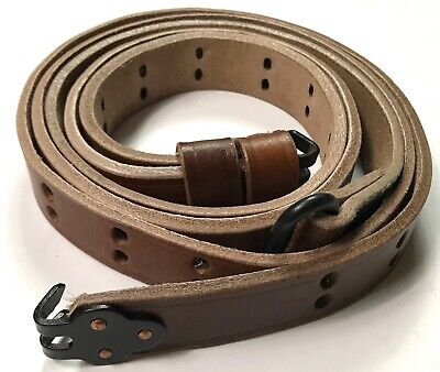 $ CDN14.56 • Buy WWII US M1 GARAND RIFLE M1907 LEATHER CARRY SLING-1 Inch