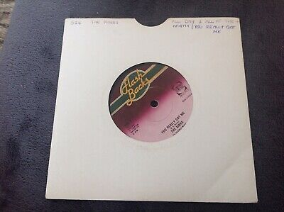 The Kinks You Really Got Me / All Day All Of The Night 7 Inch Vinyl Single • 3.50£