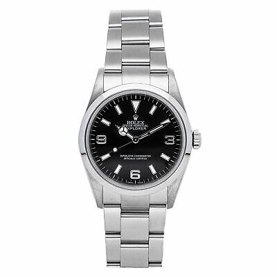 $ CDN8653.20 • Buy  Rolex Explorer Auto 36mm Steel Mens Oyster Bracelet Watch 114270