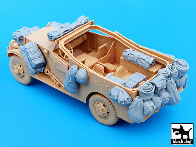 $26.94 • Buy Black Dog 1/35 US M3A1 Scout Car Accessories Set For HobbyBoss Kit