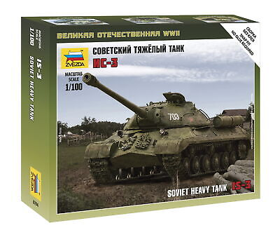 AU10 • Buy Zvezda 1/100 Soviet Heavy Tank IS-3