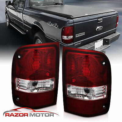 $50.67 • Buy For 2001-2011 Ford Ranger Pickup Dark Red OE Replacement Tail Light Left+Right