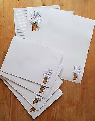 £3.85 • Buy New! Lavender Delight Writing Paper Set With Matching Envelopes 12pages + 4 Env