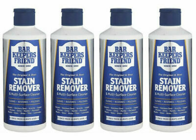 £9.95 • Buy 4x Bar Keepers Friend Stain Remover & Multi Surface Cleaner 250g