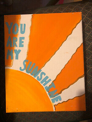 You Are My Sunshine On Canvas • 6.77£