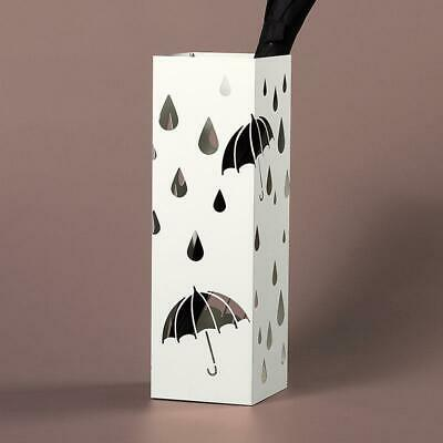 AU57.16 • Buy Metal Modern Umbrella Stand Holder White Umbrella  Garden Outdoor Parasol Base H