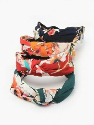 $ CDN11.15 • Buy Women Girls Alice Band Knotted Floral Headband  Hair Accessories