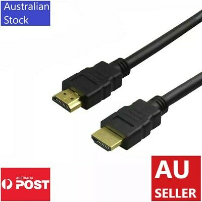 AU14.95 • Buy HDMI Cable 3D Ultra HD 4K 2160p 1080p High Speed With Ethernet HEC ARC V2.0 3M
