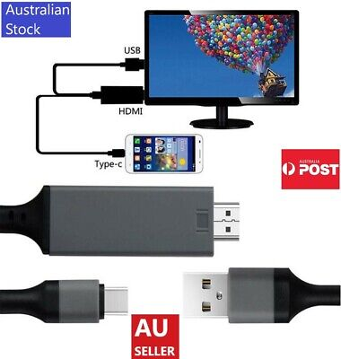 AU15.99 • Buy Phone To HDMI Cable / USB-C To HDMI / Lightning To HDMI