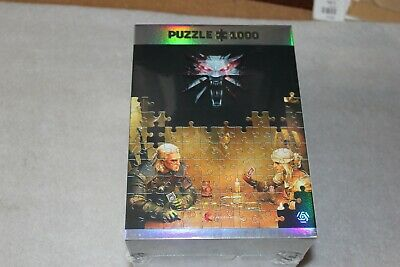 $ CDN50.49 • Buy Witcher Puzzle Geralt & Ciri Game Gwent Fight New Sealed