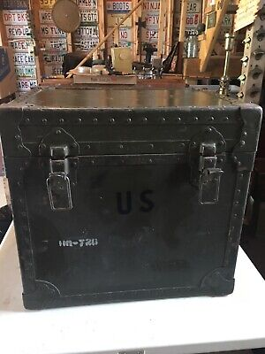 $225 • Buy US Military Typewriter Transport Storage Shipping Container Field Case Box LD