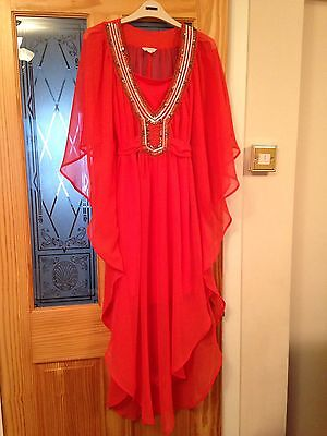 £19.99 • Buy Monsoon Dress/ Tunic In Coral Size S