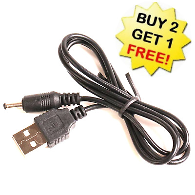 $6.54 • Buy USB To 3.5mm Jack Power Charger Cable Adapter DC 5V Supply Charge Connector Cord