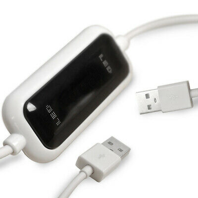 USB 2.0 PC To PC Sync Bridge Online Share File Transfer Data Cable High Speed • 10.22£