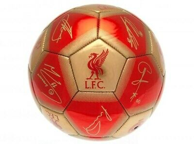 £14.95 • Buy Liverpool Football Club Official Signature Size 5 20/21 Ball Badge Crest Team