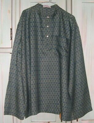 Mens Vintage 'Fabindia' Silk Tunic/Shirt - Made In India - Size 46 • 40£