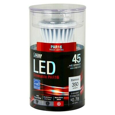 $9.49 • Buy Feit Electric 51900 LED Dimmable PAR16 Light Bulb, FREE SHIPPING