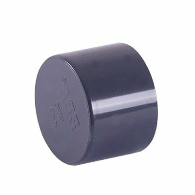 Plain End Cap PVC Solvent Weld Pressure Pipe Fitting Metric Sizes: 16mm -200mm • 10.45£