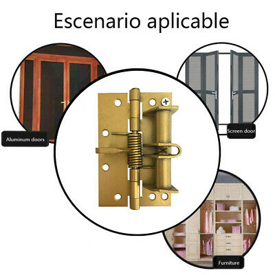 Wardrobe Heavy Duty Door Spring Hinge Automatic Closing 90 Degree Positioning • 5.32£