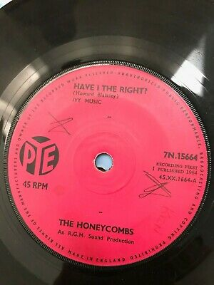 The Honeycombs - Have I The Right - Pye 7  • 2£