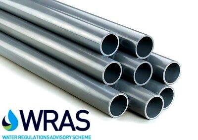 £6.10 • Buy PVC Pressure Pipe Solvent Weld 2 X 1.2m Imperial Sizes: 1/2 -3