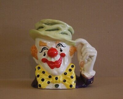 ### Super Royal Doulton  The Clown  Character Jug D6834 ### • 55£